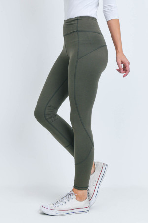 S18-6-2-L1080 OLIVE LEGGINGS 2-2-2