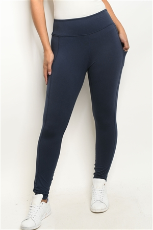 S10-14-1-L7001 NAVY LEGGINGS 1-2-2-1