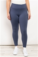 S21-11-1-L1080X BLUE DENIM PLUS SIZE LEGGINGS 2-2-2