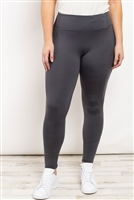 S21-10-1-L1080X CHARCOAL PLUS SIZE LEGGINGS 2-2-2