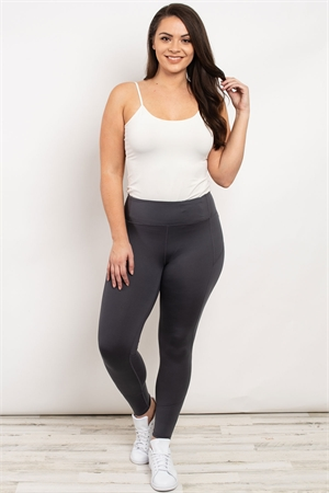 S19-9-2-L1080X CHARCOAL PLUS SIZE LEGGINGS 3-2-2