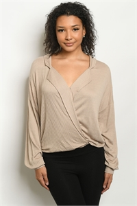 S12-9-1-T15080 TAUPE TOP 3-2-1