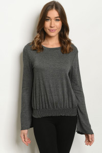 S17-12-1-T8737 CHARCOAL SWEATER 1-1-1