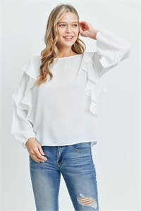 C46-B-3-T51682 OFF WHITE TOP 2-2-2