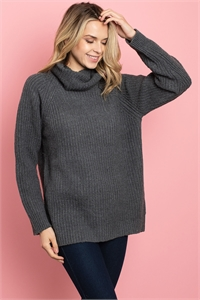 S25-8-1-S3677 CHARCOAL SWEATER 2-2-2