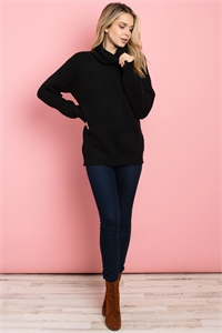 S14-12-2-S3677 BLACK SWEATER 3-2-2