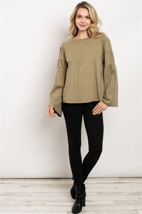 S16-12-3-T14333 OLIVE TOP 2-2-4
