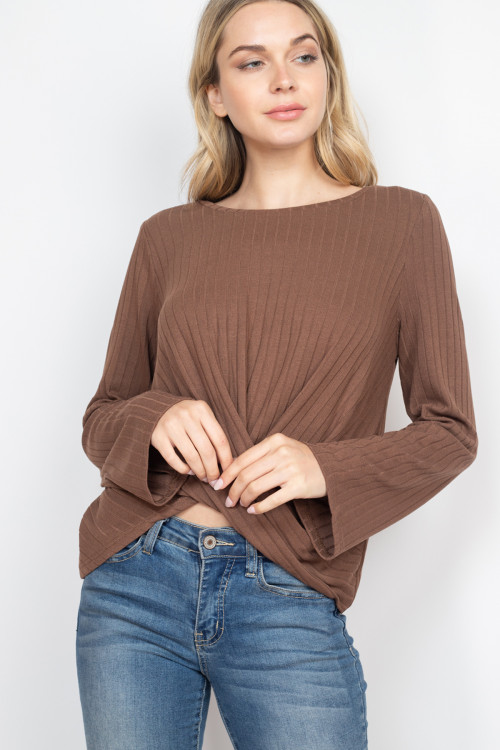 S10-1-2-T14370 BROWN TOP 2-2-2
