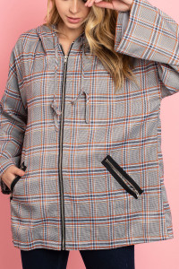 S10-11-1-J12561 GRAY CHECKERED JACKET 3-2-1