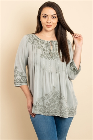 S10-6-1-T10805X GRAY PLUS SIZE TOP 3-2