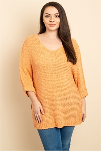 S13-7-2-S2208X PEACH PLUS SIZE SWEATER 2-2-2