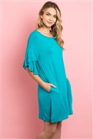 C58-A-1-D4226 TURQUOISE DRESS 2-2-2