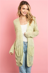 S9-10-3-C22693 LIME CARDIGAN 1-2-2