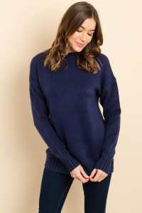 S11-3-3-S3423 NAVY SWEATER 2-2-2