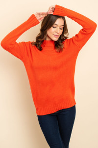 S11-20-3-S3423 ORANGE SWEATER 2-2-2