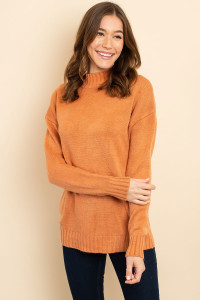 S8-7-3-S3423 SALMON SWEATER 2-2-2