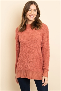 S13-7-3-S3464 SALMON SWEATER 2-4
