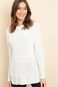 S16-11-1-S3464 IVORY SWEATER 2-1-2