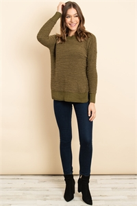 S16-11-1-S3464 OLIVE SWEATER 3-2