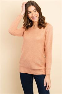 S14-4-3-S3520 SALMON SWEATER 2-2-2
