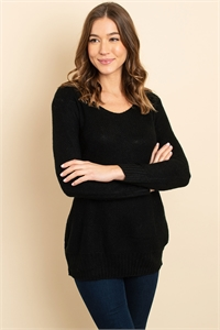 S14-4-3-S3520 BLACK SWEATER 2-2-2