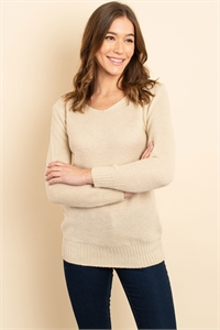 S14-4-3-S3520 BEIGE SWEATER 2-2-2