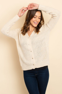 S18-12-1-S3248 BEIGE SWEATER / 3PCS
