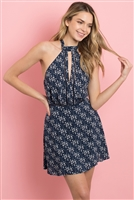 S11-10-1-D2038 NAVY WHITE DRESS 3-2-1