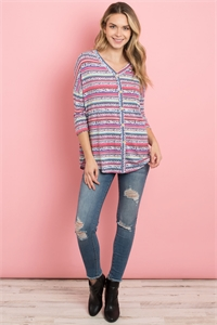 C32-A-1-T2297 MULTI COLOR TOP 2-2-2