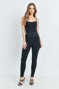 S16-6-2-J2880 BLACK JUMPSUIT 3-2-1
