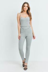 S14-5-2-J2880 GRAY JUMPSUIT 3-2-1