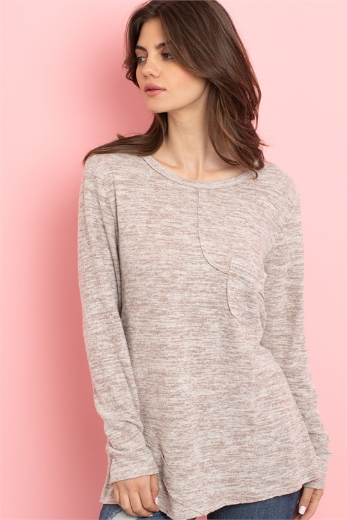 S11-9-4-T2364 TAUPE TOP 2-2-2