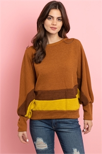 C24-A-2-S3238 CAMEL YELLOW SWEATER 2-2-2