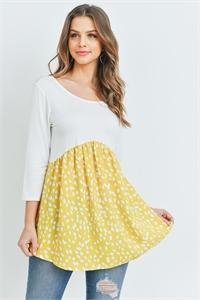 C50-A-1-T2295 IVORY YELLOW TOP 1-2-1