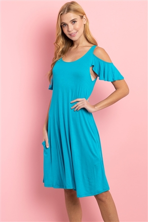 C50-A-2-D101512 TURQUOISE DRESS 2-2-2