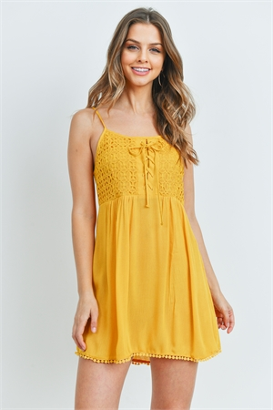 S13-1-3-D6940 YELLOW DRESS 2-2-2