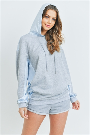 S15-12-3-SET1233237 GRAY BLUE SWEATER & SHORTS SET 1-2