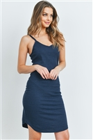 C48-A-2-D7737 NAVY STRIPES DRESS 2-2-2