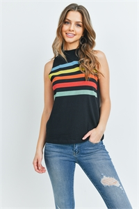 C56-A-3-T5534 BLACK MULTI TOP 2-2-2