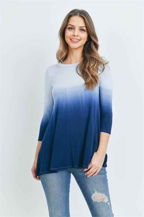 C26-A-1-T12992 BLUE NAVY TOP 2-2-2