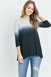 C32-A-1-T12992 GRAY BLACK TOP 2-4