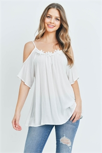 C22-A-1-T5483 OFF WHITE TOP 2-2-2