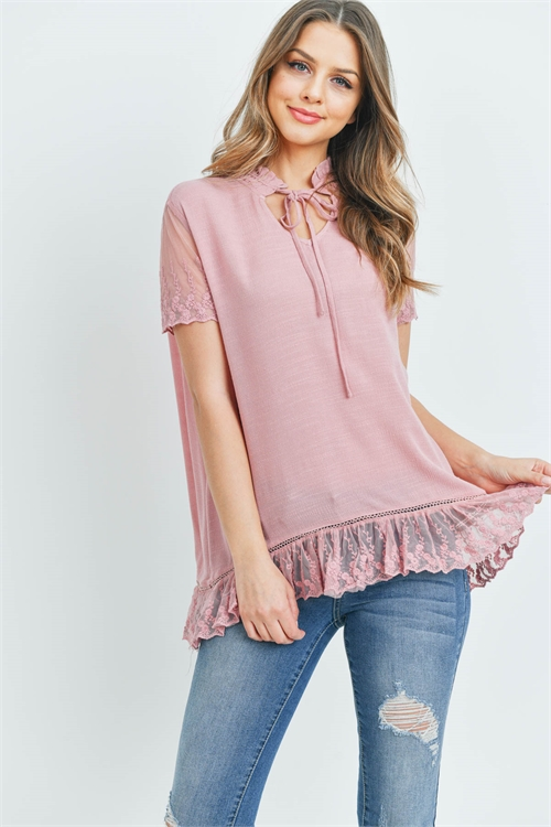 S10-10-3-T20823 DUSTY PINK TOP 2-2-2