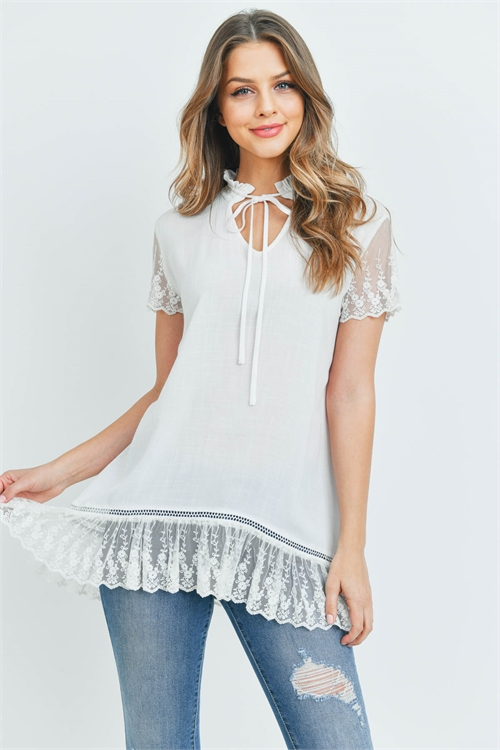 S14-7-3-T20823 OFF WHITE TOP 1-2-2