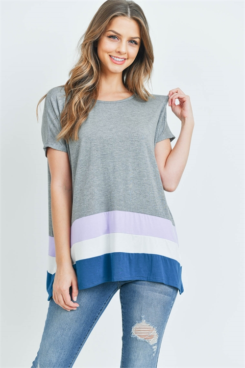 S9-15-1-T24063 GRAY LAVENDER TOP 3-3