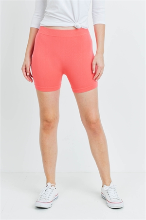 S14-12-2-FABS011921 CORAL SHORTS / 10PCS