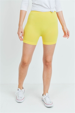 S14-12-3-FABS011921 YELLOW SHORTS / 10PCS