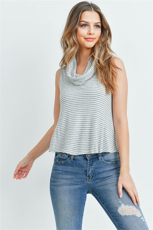 C12-A-1-T1273 GRAY STRIPES TOP 2-2