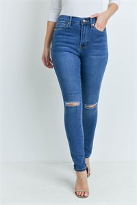 S10-6-1-J3707 MEDIUM BLUE DENIM JEANS 1-2-2-2-2-2-1
