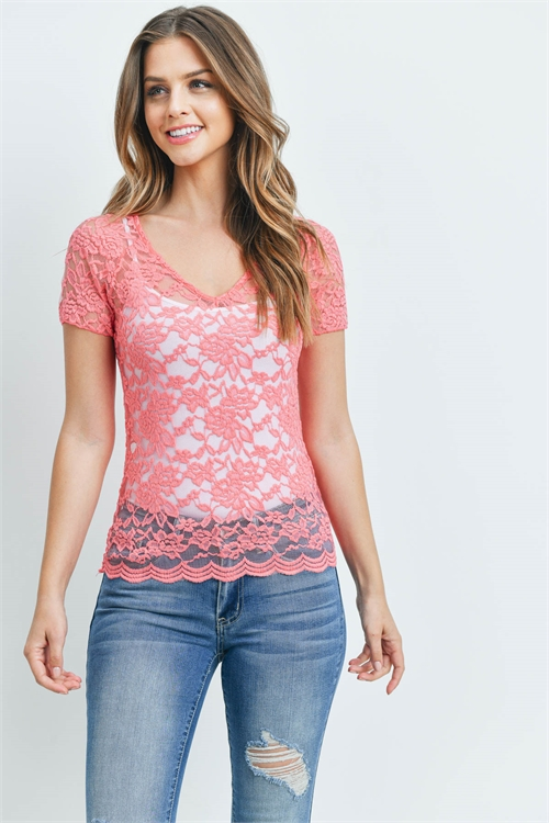 C36-A-1-T2096 CORAL TOP 2-2-2
